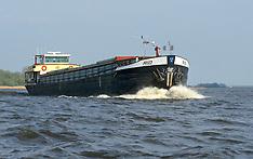 Binnenvaart schepen, canal and river boats, cargo