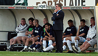 Photo: Alan Crowhurst.<br />Brighton & Hove Albion v Cardiff City. Coca Cola Championship. 15/10/2005. A worried Mark McGhee on the touchline.