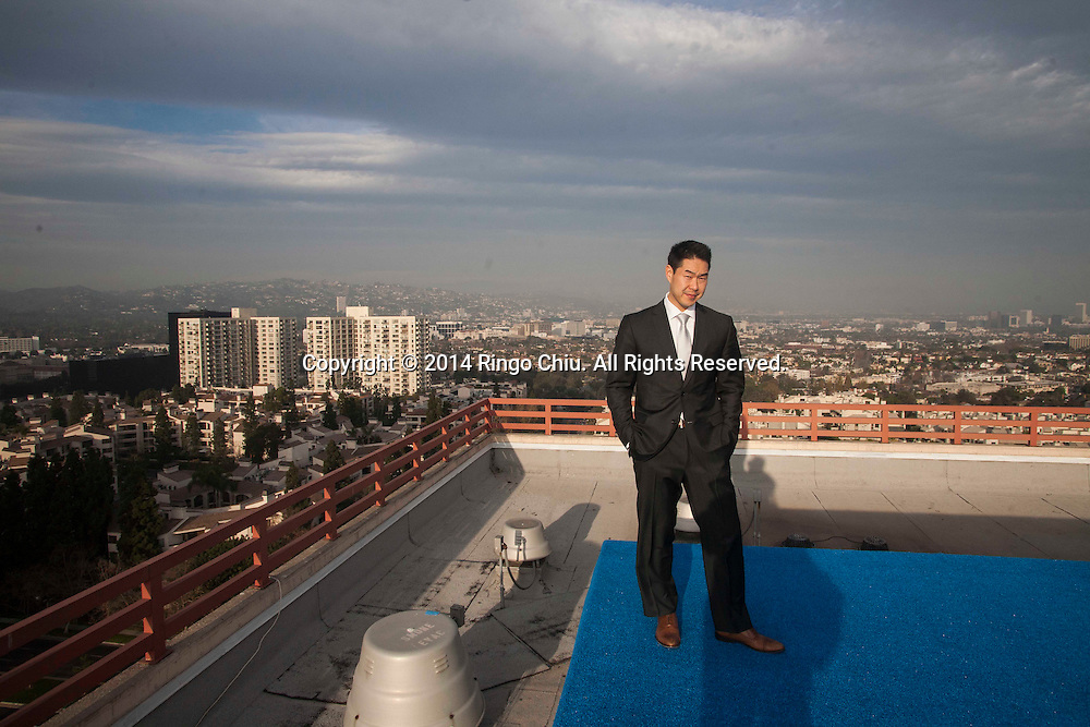 Steve Choe, General Manager of  Intercontinental Los Angeles in Century City. <br /> (Photo by Ringo Chiu/PHOTOFORMULA.com)