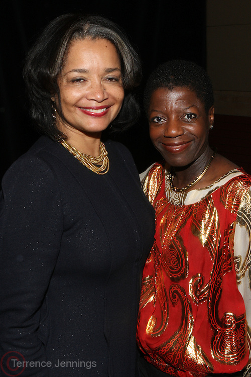 24 January 2011- Harlem, NY- l to r: Jonelle Procope and Thelma Golden at The Schomburg Center 85th Anniversary Gala Celebration and Tribute to Howard Dodson VIP Reception held at the Gate House on The City College Campus on January 24, 2011 in the Village of Harlem in New York City.  Photo Credit: Terrence Jennings