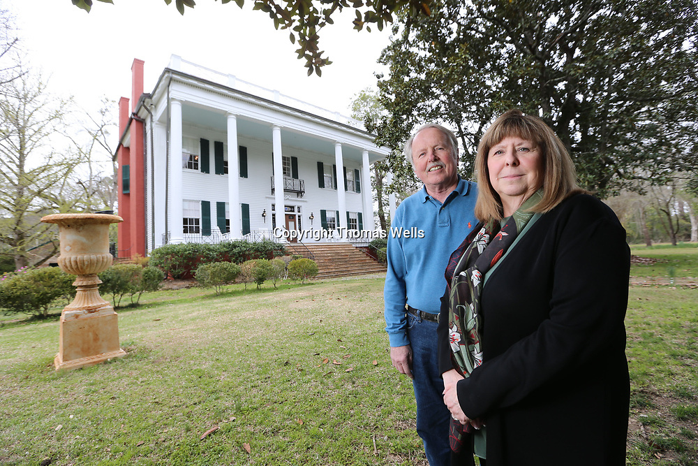 THOMAS WELLS/BUY at PHOTOS.DJOURNAL.COM<br /> Jim and Debby Lamping bought Lauri Mundi in 2015, a secluded home that has been a mystery to people for generations. The Lampings will open the home's interior to the public for the first time during this year's Pilgrimage.