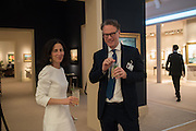 ALISON GREEN, ; JONATHAN GREEN; , The Neo Romantic Art Gala in aid of the NSPCC. Masterpiece. Chelsea. London.  30 June 2015