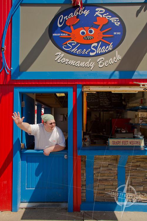 Crabby Rick's Shore Shack in Normandy Beach, NJ