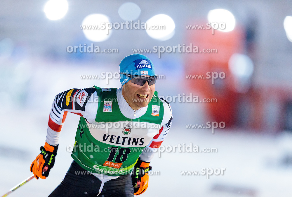 27.11.2016, Nordic Arena, Ruka, FIN, FIS Weltcup Nordische Kombination, Nordic Opening, Kuusamo, Langlauf, im Bild Bernhard Gruber (AUT) // Bernhard Gruber of Austria during Cross Country of the FIS Nordic Combined World Cup of the Nordic Opening at the Nordic Arena in Ruka, Finland on 2016/11/27. EXPA Pictures © 2016, PhotoCredit: EXPA/ JFK