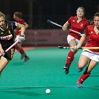 France v Belgium OQT Belgium women 2012