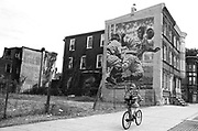 Photograph of <br /> Taken for a photo project entitled In Plain Sight : Public Art in Philadelphia by Ed Hille