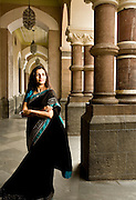Portrait of Chanda Kochhar, Managing Director and CEO of ICICI Bank.  Photographed by Brian Smale at the Taj Palace Hotel in Mumbai India, for Fortune Magazine's list of the 'Most Powerful Women' in 2008.