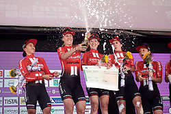 Team Sunweb win the team classification during Ladies Tour of Norway 2019 - Stage 4, a 154 km road race from Svinesund to Halden, Norway on August 25, 2019. Photo by Sean Robinson/velofocus.com