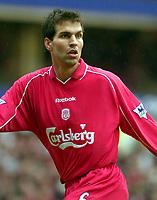 Fotball, 04.12.2001 Liverpool, GB,<br />Ex-Nationalspieler Markus Babbel (Archvifoto) vom FC Liverpool ist erneut schwer erkrankt und føllt bis auf weiteres aus.<br />Foto: Digitalsport