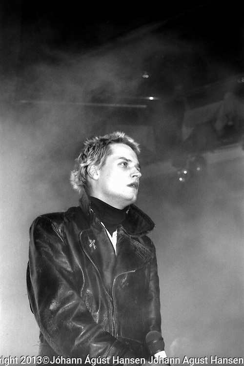 Scanned film from Geirix @ Pressphotos Divinity revisited<br /> The Sugarcubes in Concert in Iceland 1988.