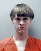 Jun 18, 2015 - Charleston, South Carolina, U.S. - <br /> <br /> Charleston Church Shooting<br /> <br /> The gunman suspected of shooting dead nine people at a historic black church has been identified as Dylann Roof, 21. Roof was arrested in Shelby on Thursday. PICTURED: Images provided by South Carolina Detention Center of DYLANN ROOF in an undated mugshot during a previous arrest.   <br /> ©Exclusivepix media