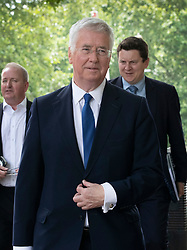 © Licensed to London News Pictures. 12/06/2019. London, UK. Michael Fallon arrives at Boris Johnson's Conservative party leadership campaign launch in central London.  Photo credit: Peter Macdiarmid/LNP