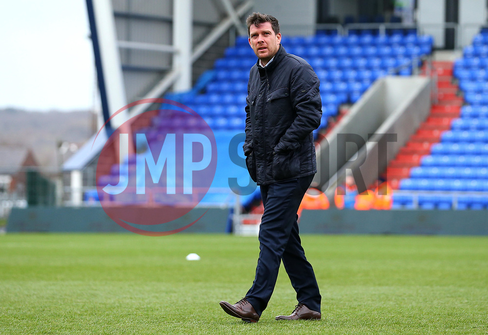 Bristol Rovers manager Darrell Clarke arrives at The Sportsdirect.com Park for the fixture against Oldham Athletic - Mandatory by-line: Robbie Stephenson/JMP - 30/12/2017 - FOOTBALL - Sportsdirect.com Park - Oldham, England - Oldham Athletic v Bristol Rovers - Sky Bet League One