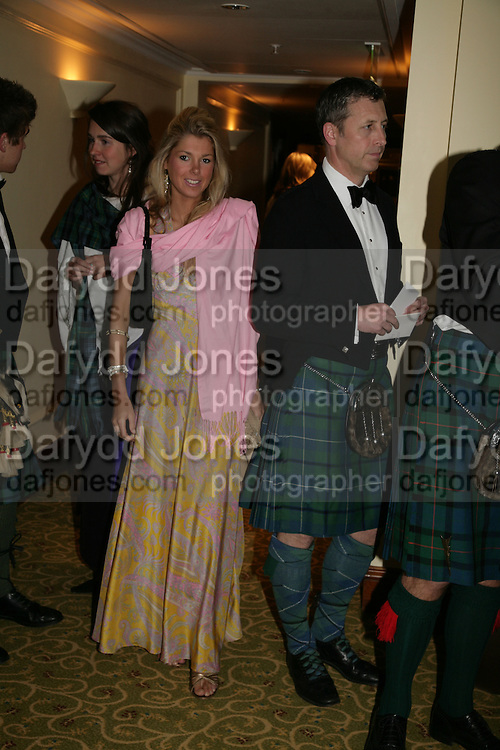 Tess Shepherd, The Royal Caledonian Ball 2007. Grosvenor House. 4 May 2007.  -DO NOT ARCHIVE-© Copyright Photograph by Dafydd Jones. 248 Clapham Rd. London SW9 0PZ. Tel 0207 820 0771. www.dafjones.com.