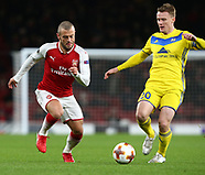Arsenal v FC BATE Borisov, 7 Dec 2017