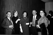 26/03/1966<br /> 03/26/1966<br /> 26 March 1966<br /> U.S. travel agents reception at the Intercontinental Hotel, Dublin. Paddy Condon second from right.