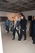 ADAM WAYMOUTH, George Condo: Mental States. Hayward Gallery. Southbank Rd. London. 17 October 2011. <br /> <br />  , -DO NOT ARCHIVE-© Copyright Photograph by Dafydd Jones. 248 Clapham Rd. London SW9 0PZ. Tel 0207 820 0771. www.dafjones.com.