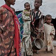 kenya, Dadaab, le 12-08-11 - camp Ifo 3. Avec plus de 400000 réfugiés, en majeure partie des somaliens ayant fuit la guerre et la famine qui sévit dans leur pays, Dabaab est le plus grand camp de réfugiés au monde.