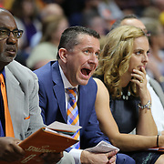 UNCASVILLE, CONNECTICUT- JUNE 3:   Curt Miller, (center), Head Coach of the Connecticut Sun, with Assistant Coach Steve Smith and Assistant Coach Nicki Collen on the sideline during the Atlanta Dream Vs Connecticut Sun, WNBA regular season game at Mohegan Sun Arena on June 3, 2016 in Uncasville, Connecticut. (Photo by Tim Clayton/Corbis via Getty Images)