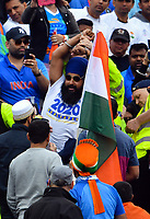 Cricket - 2019 ICC Cricket World Cup - Semi-Final: India vs. New Zealand<br /> <br /> Police move in to arrest pro Khalistan protesters, at Old Trafford, Manchester.<br /> <br /> COLORSPORT/ASHLEY WESTERN