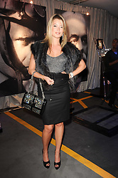 HOLLY VALANCE at a party to celebrate 150 years of TAG Heuer held at the car park at Selfridge's, London on 15th September 2010.
