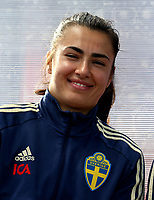 International Women's Friendly Matchs 2019 / <br /> Womens's Algarve Cup Tournament 2019 - <br /> Portugal v Sweden 2-1 ( Municipal Stadium - Albufeira,Portugal ) - <br /> Zecira Musovic of Sweden