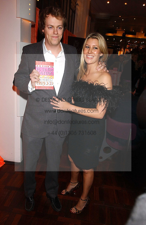 MR TOM PARKER BOWLES son of Camilla Parker Bowles and MISS SARA BUYS at a party to celebrate the publication of 'E is for Eating' by Tom Parker Bowles held at Kensington Place, 201 Kensington Church Street, London W8 on 3rd November 2004.<br /><br />NON EXCLUSIVE - WORLD RIGHTS