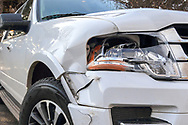 Damage results of a deer/car collision