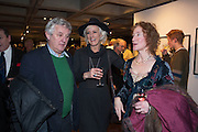JAMES HUGHES-ONSLOW;  LAURA TENISON; SUSANNAH FIENNES;, Echoes of a Vanished World. A Traveller's Lifetime in Pictures. By Robin Hanbury-Tenison. Exhibition of photographs printed by Graham Ovendon. National Theatre. South Bank. London. 23 January 2013