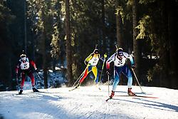 Fabien Claude (FRA) during the Men 20 km Individual Competition at day 1 of IBU Biathlon World Cup 2019/20 Pokljuka, on January 23, 2020 in Rudno polje, Pokljuka, Pokljuka, Slovenia. Photo by Peter Podobnik / Sportida