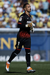 September 30, 2018 - Villarreal, Castellon, Spain - Sergio Asenjo of Villarreal CF looks on during the La Liga match between Villarreal CF and Real Valladolid at Estadio de la Ceramica on September 30, 2018 in Vila-real, Spain  (Credit Image: © David Aliaga/NurPhoto/ZUMA Press)