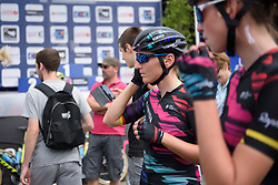 Lisa Brennauer at Grand Prix de Plouay Lorient Agglomération a 121.5 km road race in Plouay, France on August 26, 2017. (Photo by Sean Robinson/Velofocus)
