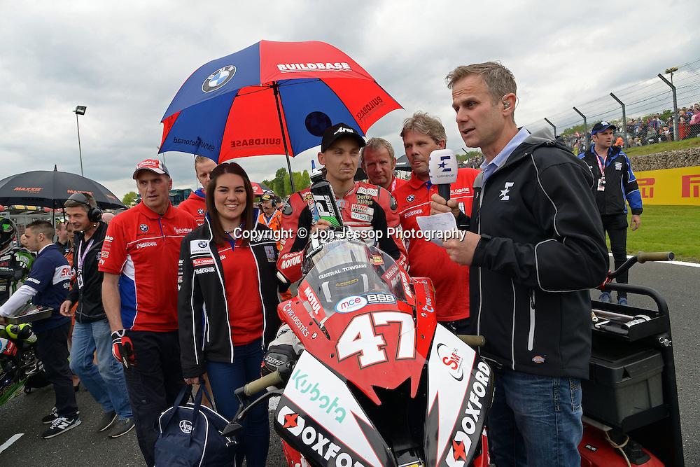 #47 Richard Cooper Buildbase BMW Motorrad MCE Insurance British Superbike Championship in association with Pirelli