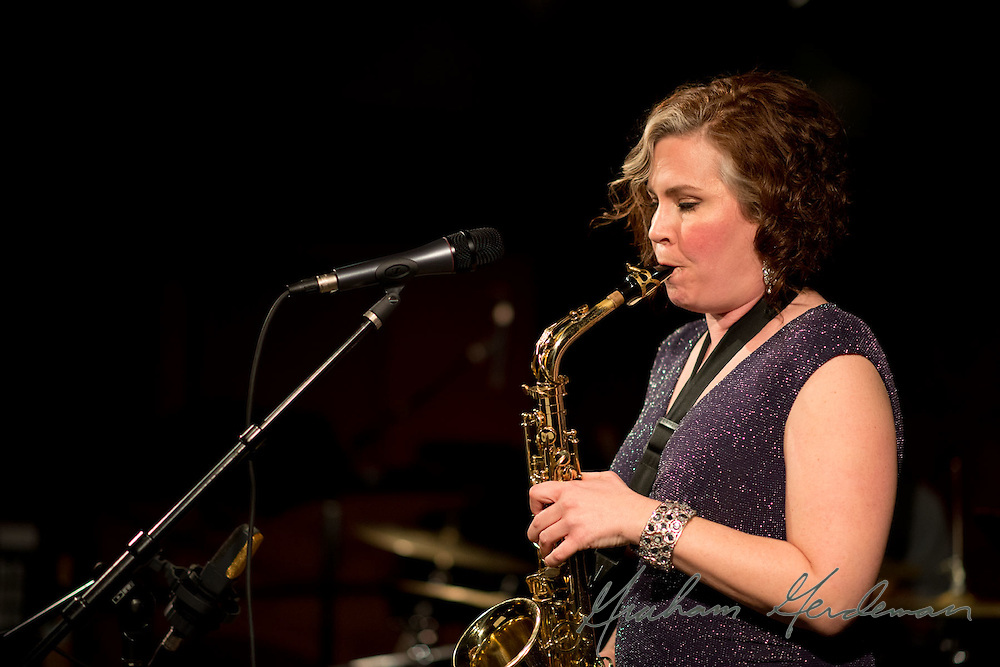 Vocalist Liz Johnson at the Nashville Jazz Workshop