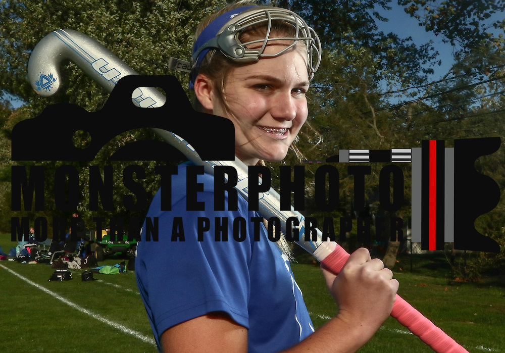 Athlete of the Week Gentry Meinecke pose for a photo Friday, Oct 28, 2016, at Brandywine High School in Wilmington.