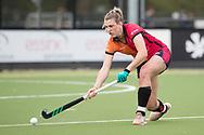 Eindhoven - Oranje Rood - Kampong  Dames, Hoofdklasse Hockey Heren, Seizoen 2017-2018, 15-04-2018, Oranje Rood - Kampong 3-1,  Valerie Magis (Oranje-Rood)<br /> <br /> (c) Willem Vernes Fotografie