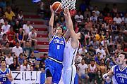LIGNANO SABBIADORO, 14 LUGLIO 2015<br /> BASKET, EUROPEO MASCHILE UNDER 20<br /> ITALIA-LETTONIA<br /> NELLA FOTO: Tommaso Laquintana<br /> FOTO FIBA EUROPE/CASTORIA