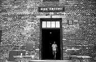 Auschwitz, former Nazi death camp, in Oswiecim, Poland's Nazi-era concentration camp..Block 11 (the Gestapo).