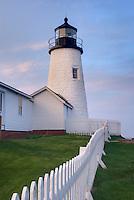 Pemaquid Point Lighthouse, Bristol Maine USA