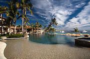 High end destination real estate in los cabos. Cabo hacienda beach club, unique location at medano beach.