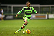 Forest Green Rovers George Williams(11) runs forward during the EFL Trophy group stage match between Forest Green Rovers and U21 Arsenal at the New Lawn, Forest Green, United Kingdom on 7 November 2018.
