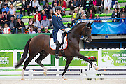 Diederik van Silfhout - Arlando NH N.O.P.<br /> Alltech FEI World Equestrian Games™ 2014 - Normandy, France.<br /> © DigiShots