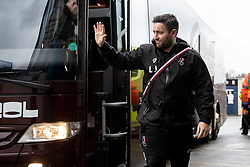 Bristol City Manager Lee Johnson arrives before the match - Mandatory by-line: Daniel Chesterton/JMP - 15/02/2020 - FOOTBALL - Elland Road - Leeds, England - Leeds United v Bristol City - Sky Bet Championship