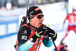 March 10, 2019 - –Stersund, Sweden - 190310 Quentin Fillon Maillet of France after the Men's 12,5 km Pursuit during the IBU World Championships Biathlon on March 10, 2019 in Östersund..Photo: Petter Arvidson / BILDBYRÃ…N / kod PA / 92255 (Credit Image: © Petter Arvidson/Bildbyran via ZUMA Press)