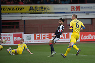 Dundee&rsquo;s Faissal El Bakhtaoui opens the scoring - Dundee v St Johnstone in the Ladbrokes Scottish Premiership at Dens Park, Dundee - Photo: David Young, <br /> <br />  - &copy; David Young - www.davidyoungphoto.co.uk - email: davidyoungphoto@gmail.com