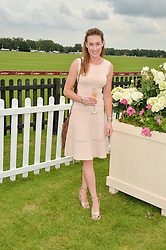 LADY TATIANA MOUNTBATTEN at the Cartier Queen's Cup Final 2016 held at Guards Polo Club, Smiths Lawn, Windsor Great Park, Egham, Surry on 11th June 2016.