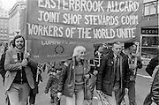 TUC anti Tory policies March, London 09-03-1980