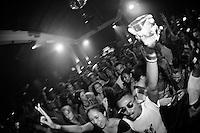 GDYGUMDRPS, Fa'Vela Punk and Aliens Talk Marriage, Hu'u Bar, Bali, Indonesia, 11/01/13.