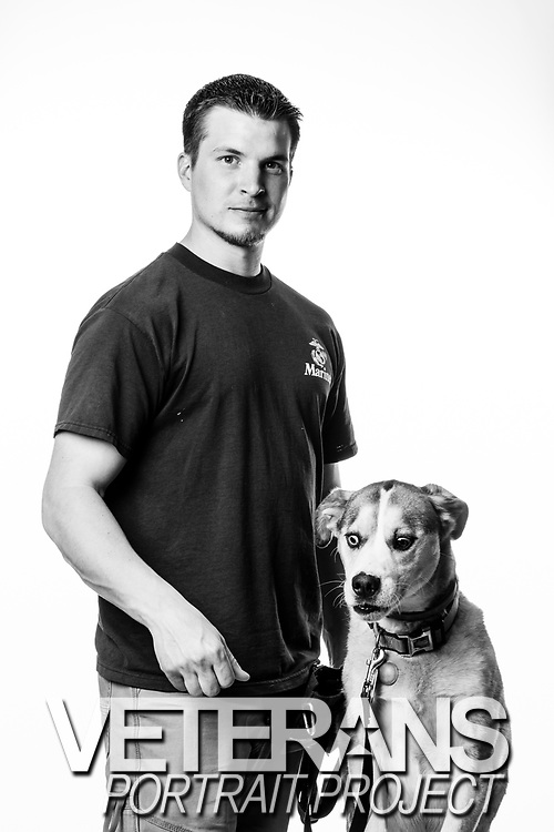 Ryan J. Woodruff<br /> Marine Corps<br /> E-4<br /> Infantry <br /> Rifleman<br /> 06/26/05-06/26/09<br /> OIF<br /> <br /> (Photo by Stacy L. Pearsall)