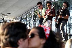 Show da banda Nego Joe no palco Pretinho do Planeta Atlântida 2013/SC, que acontece nos dias 11 e 12 de janeiro no Sapiens Parque, em Florianópolis. FOTO: Marcos Nagelstein/Preview.com